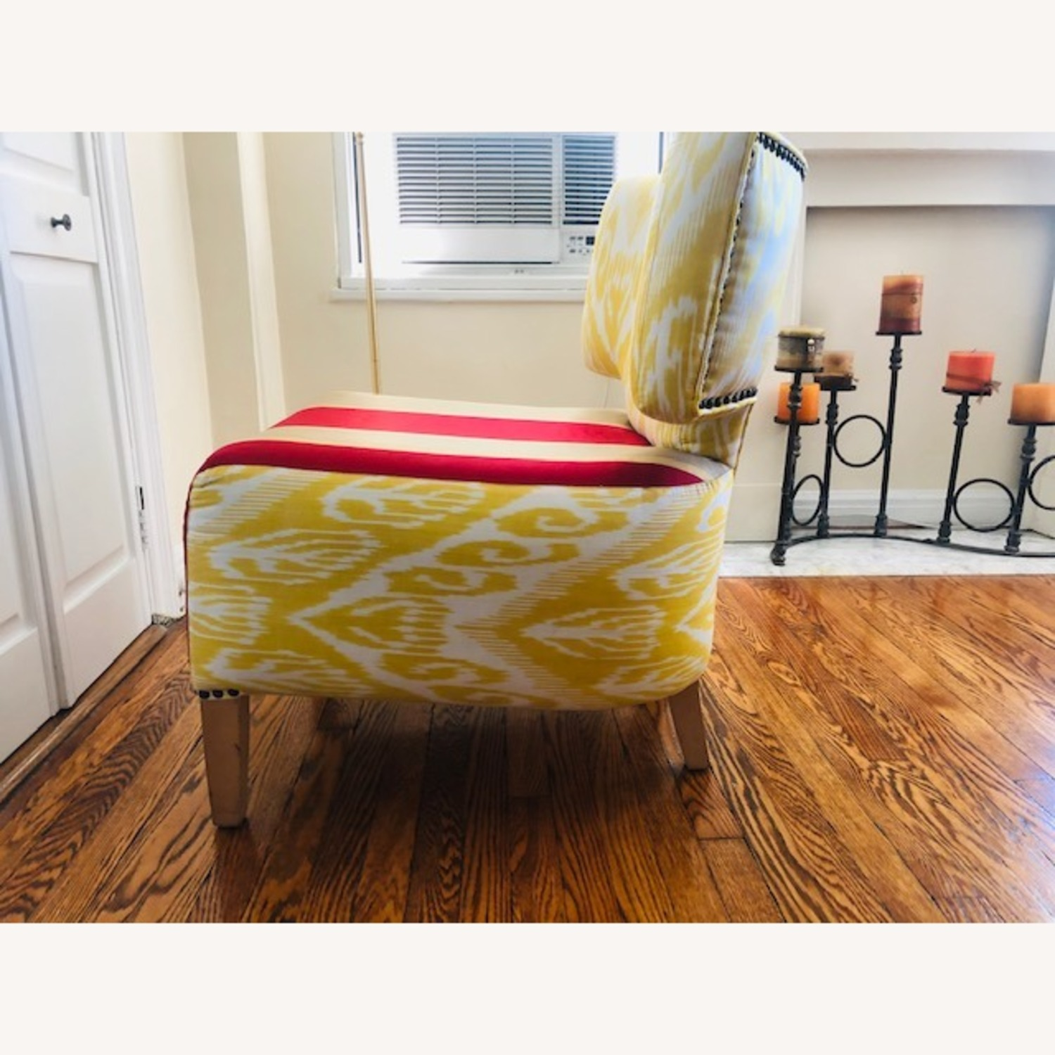 Custom made IKAT Accent Chair - image-3
