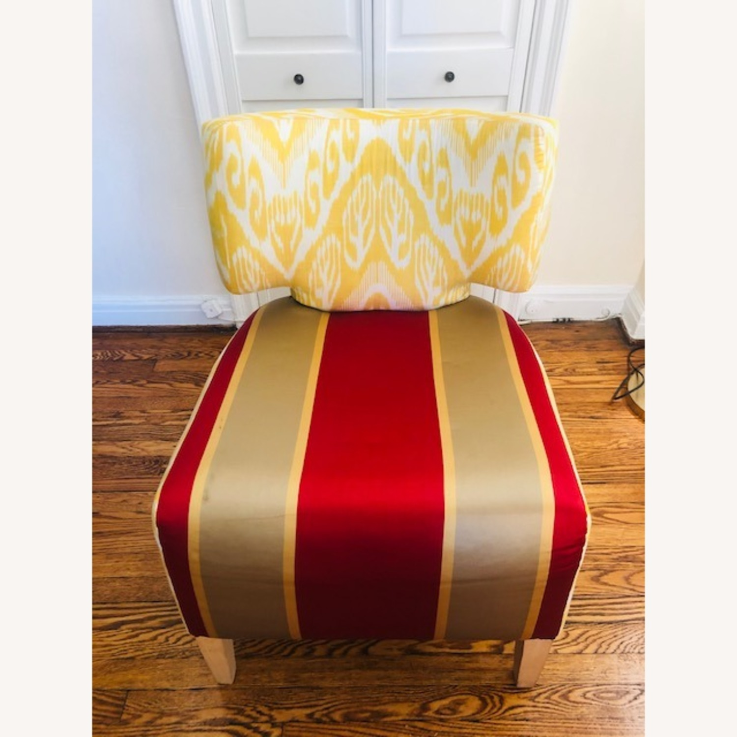 Custom made IKAT Accent Chair - image-1