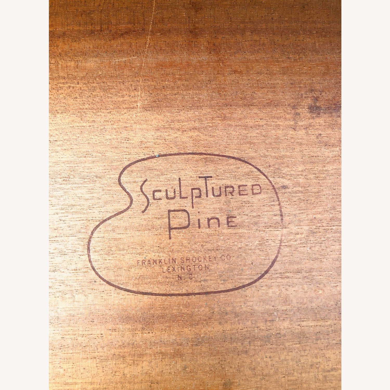 MCM Sculpted Pine Highboy by Frankin Shockey - image-21