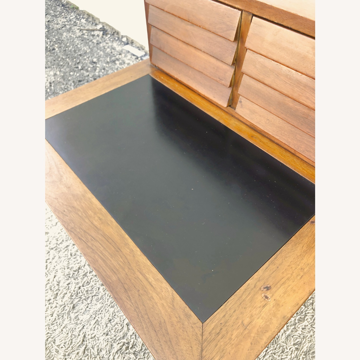 Pair Two Drawer MCM End Tables by Martinsvlle - image-14