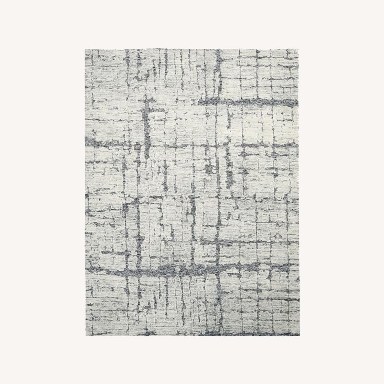 West Elm Birch Rug, 5'x8', Frost Gray - image-0