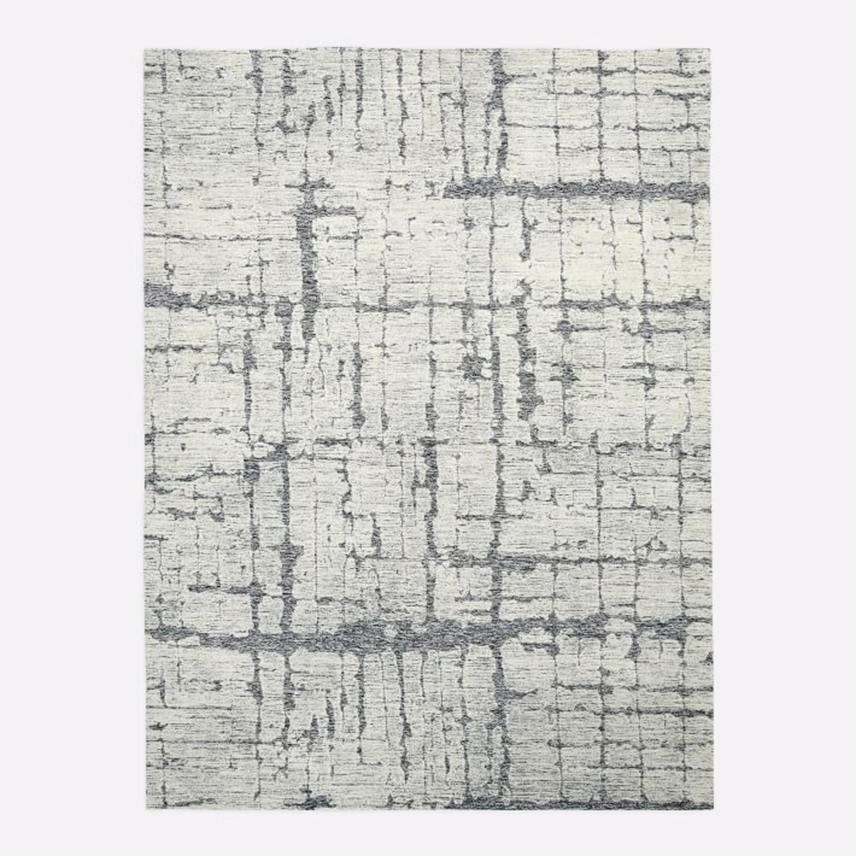 West Elm Birch Rug, 5'x8', Frost Gray - image-2