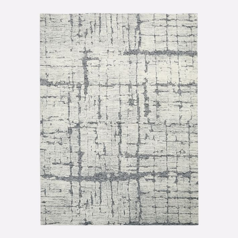 West Elm Birch Rug, 5'x8', Frost Gray - image-1
