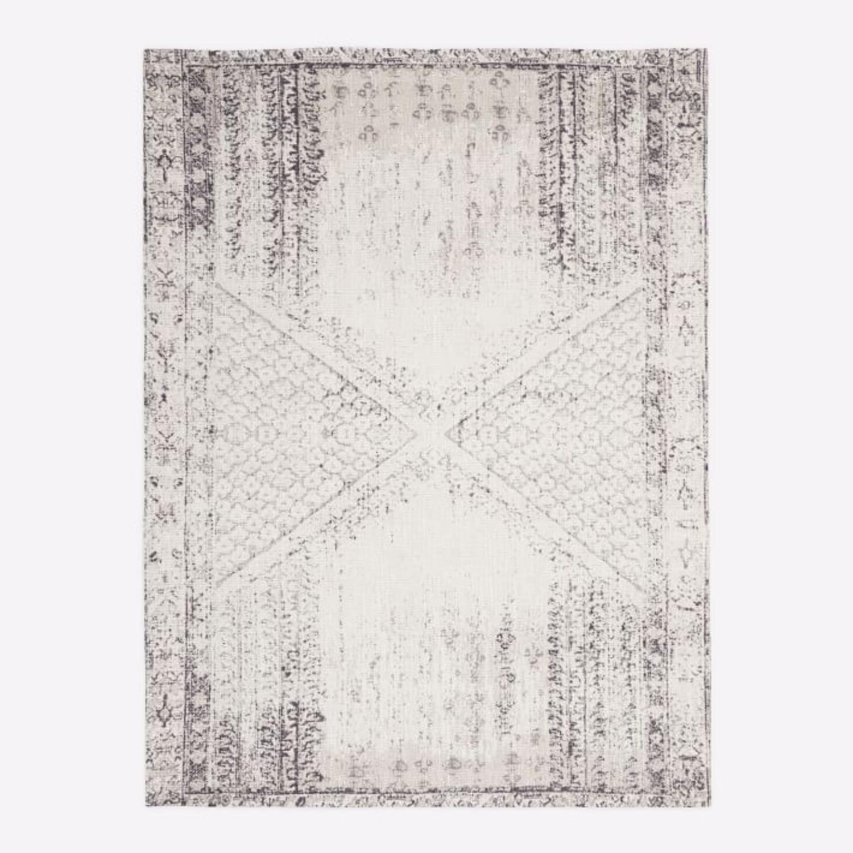 West Elm Distressed Ensi Rug, White, 8'x10' - image-2