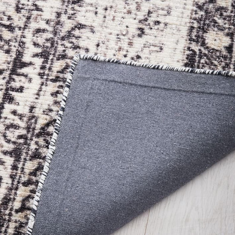 West Elm Distressed Ensi Rug, White, 8'x10' - image-1