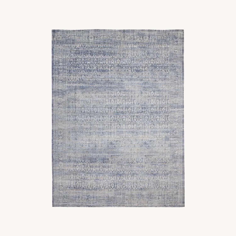 West Elm Azura Rug, Indigo, 8'x10' - image-0