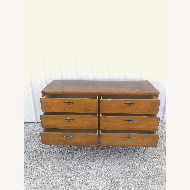Mid Century Six Drawer Dresser - image-9