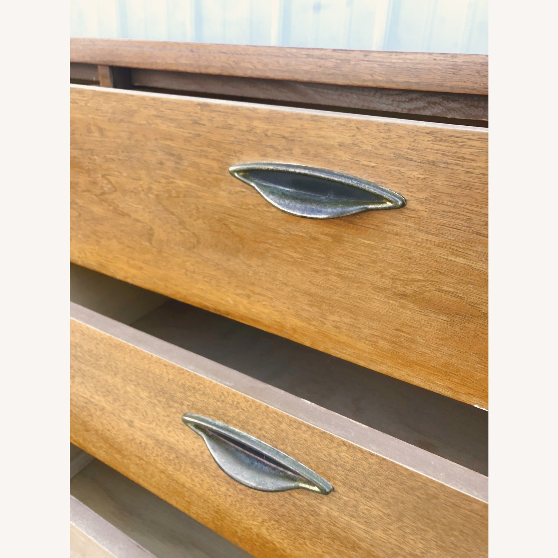 Mid Century Six Drawer Dresser - image-15