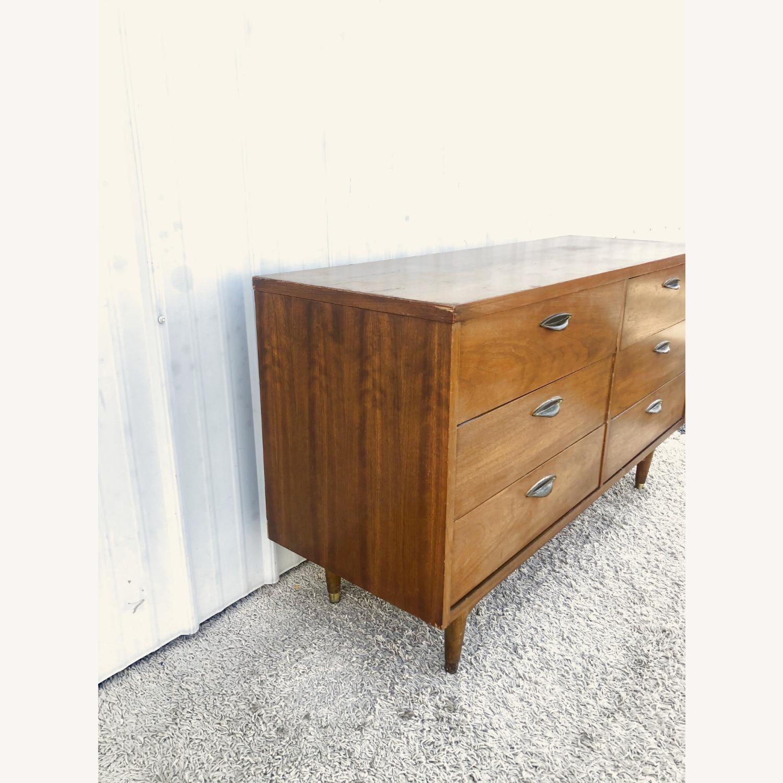 Mid Century Six Drawer Dresser - image-7