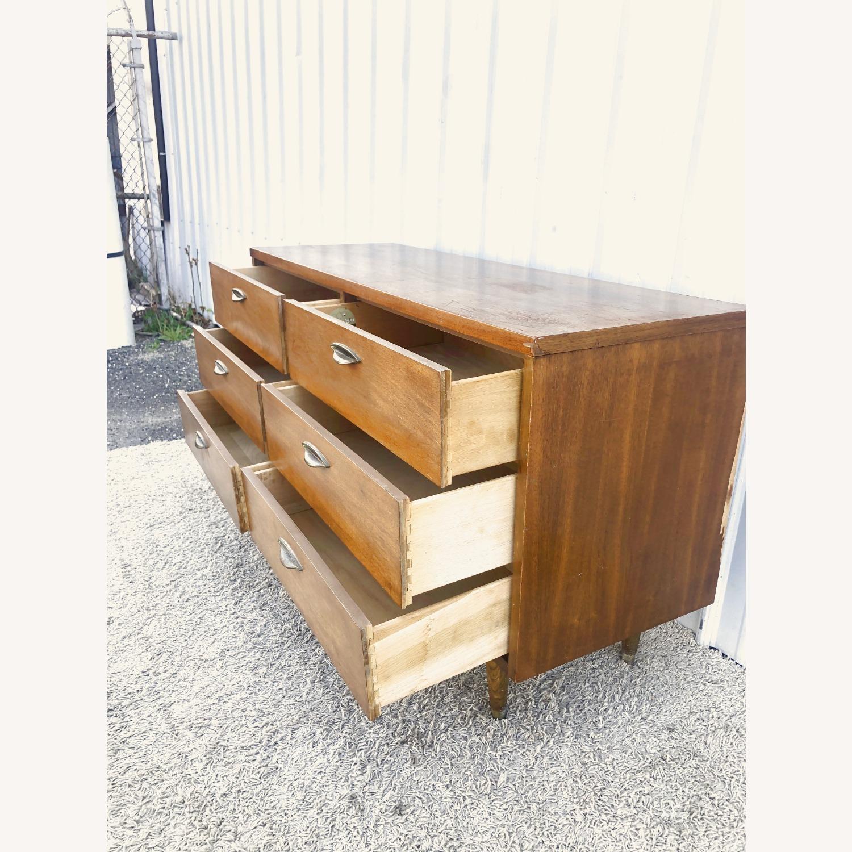 Mid Century Six Drawer Dresser - image-10