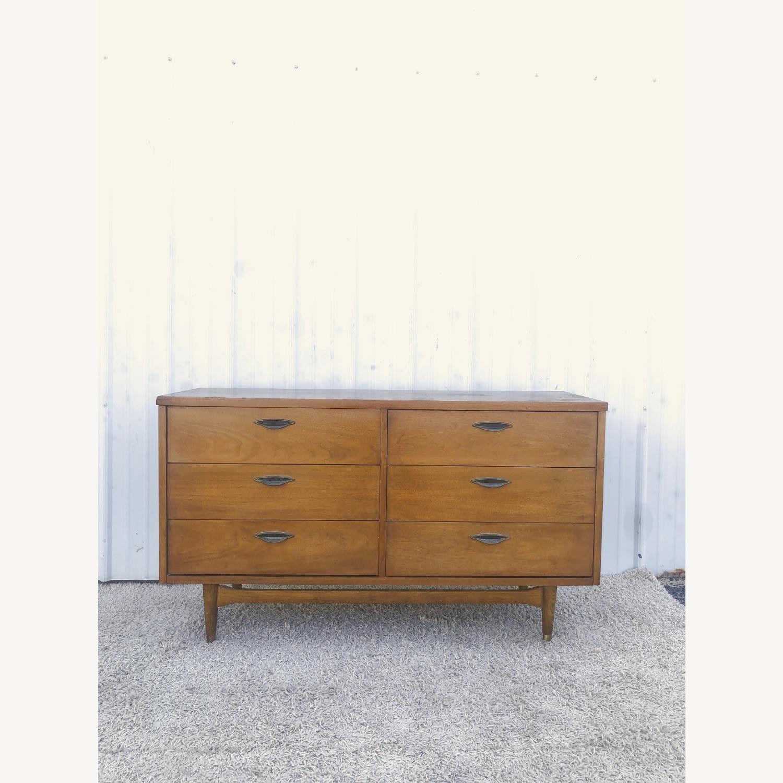 Mid Century Six Drawer Dresser - image-1