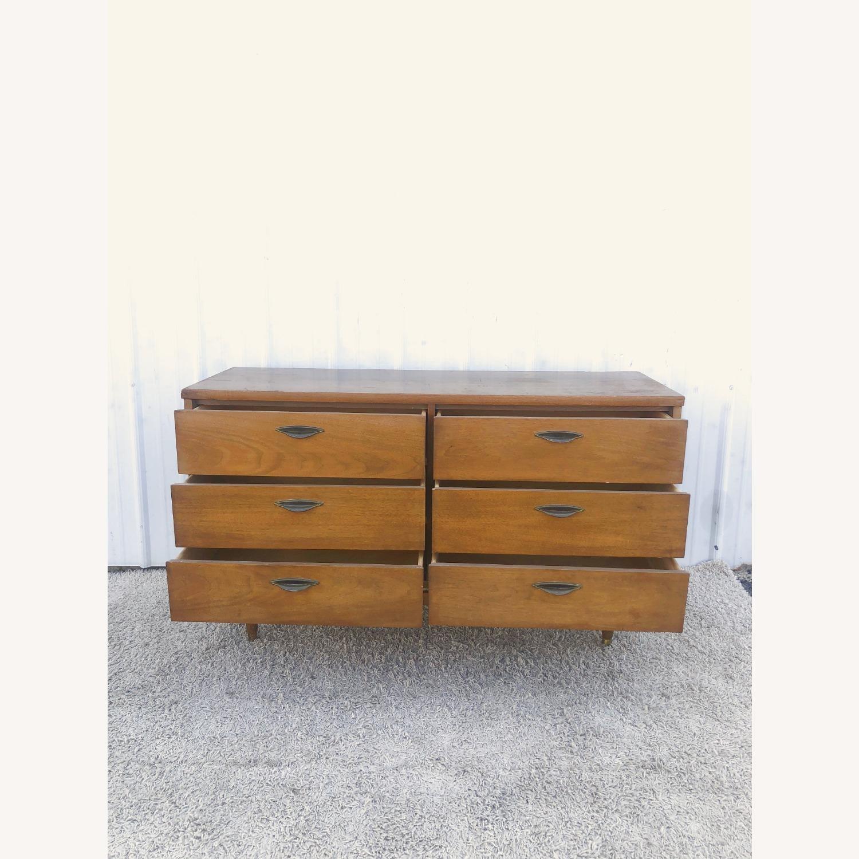 Mid Century Six Drawer Dresser - image-13