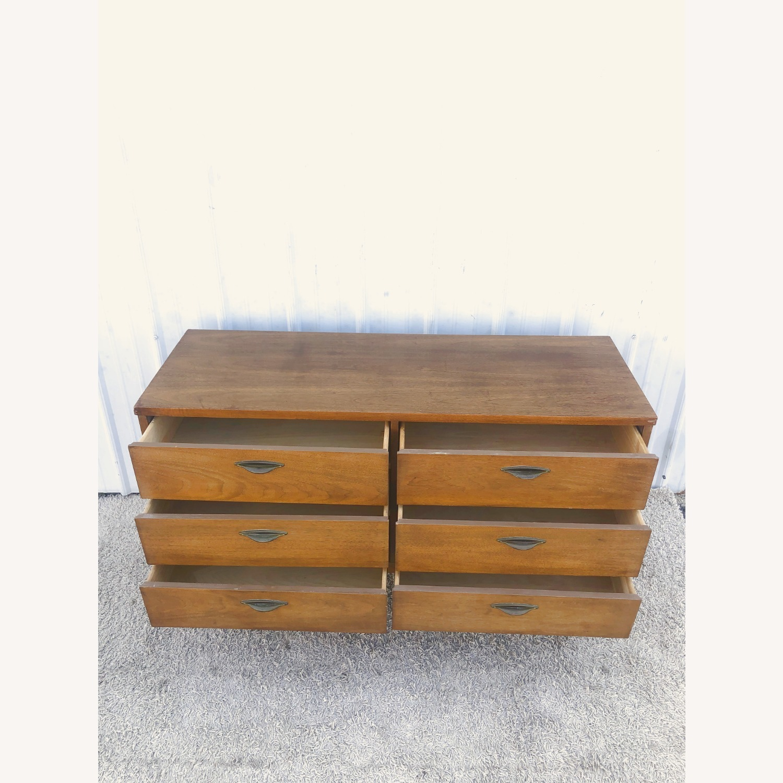 Mid Century Six Drawer Dresser - image-14