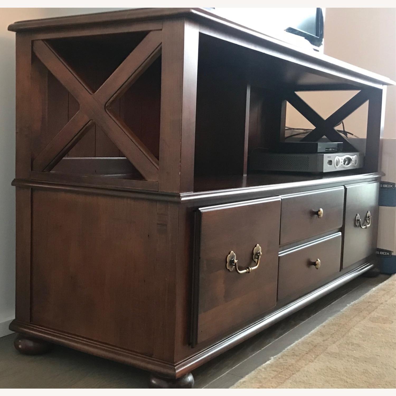 Ethan Allen Credenza/TV/Storage - image-2