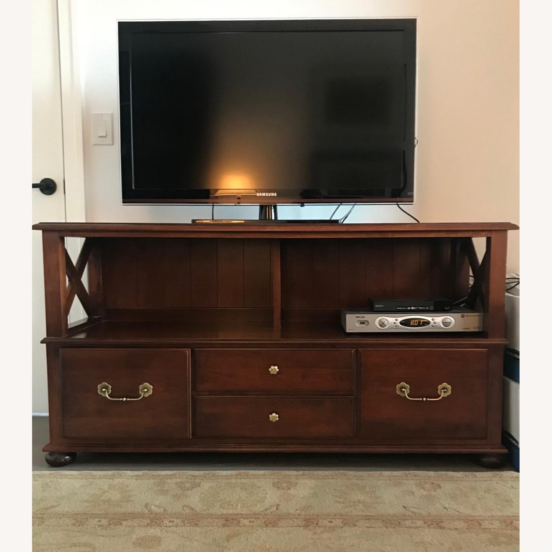 Ethan Allen Credenza/TV/Storage - image-4