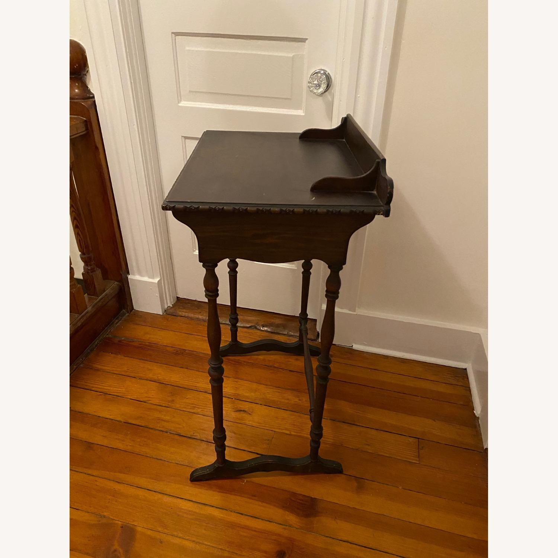 Vintage Wooden Telephone Table/Nightstand - image-5