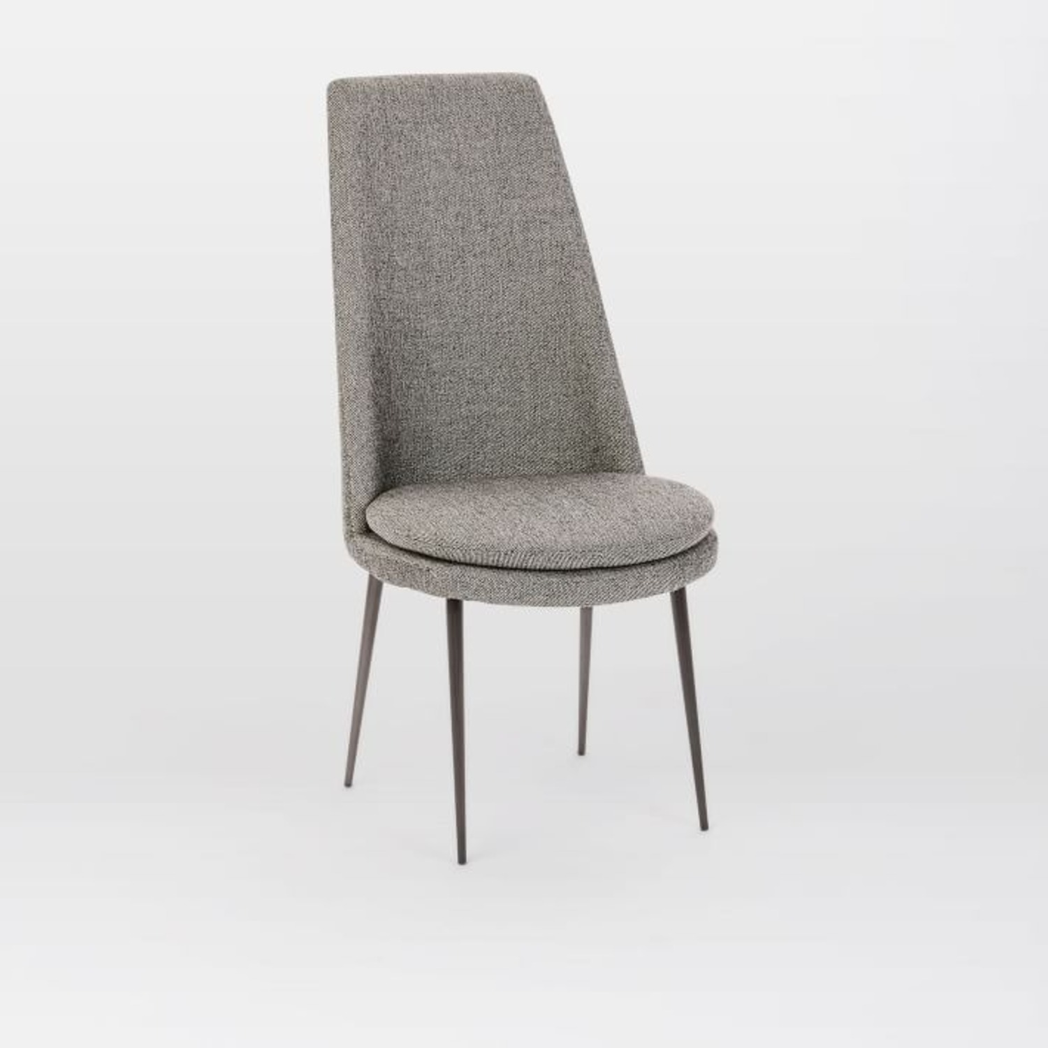 West Elm Finley High-Back Upholstered Dining Chair - image-3