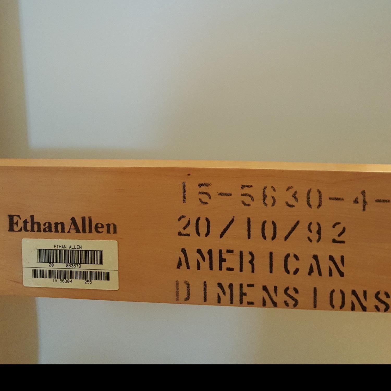 Ethan Allen Solid Wood Full Bed Frame - image-2