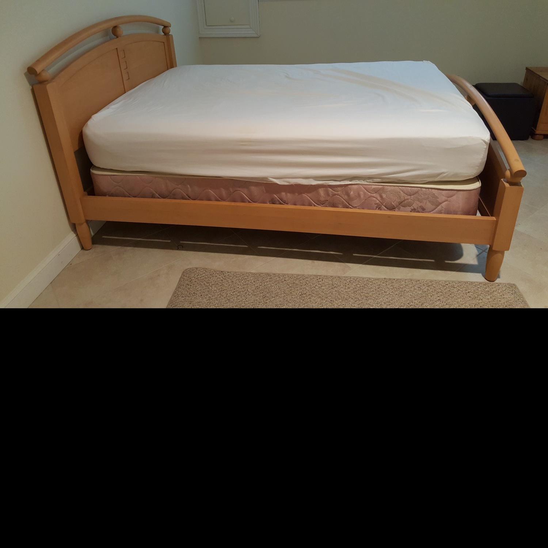 Ethan Allen Solid Wood Full Bed Frame - image-3