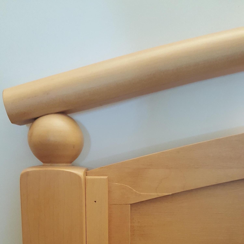 Ethan Allen Solid Wood Full Bed Frame - image-5