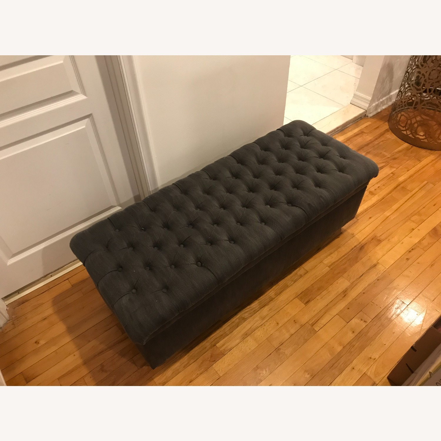 Ottoman Bench with Storage - image-3