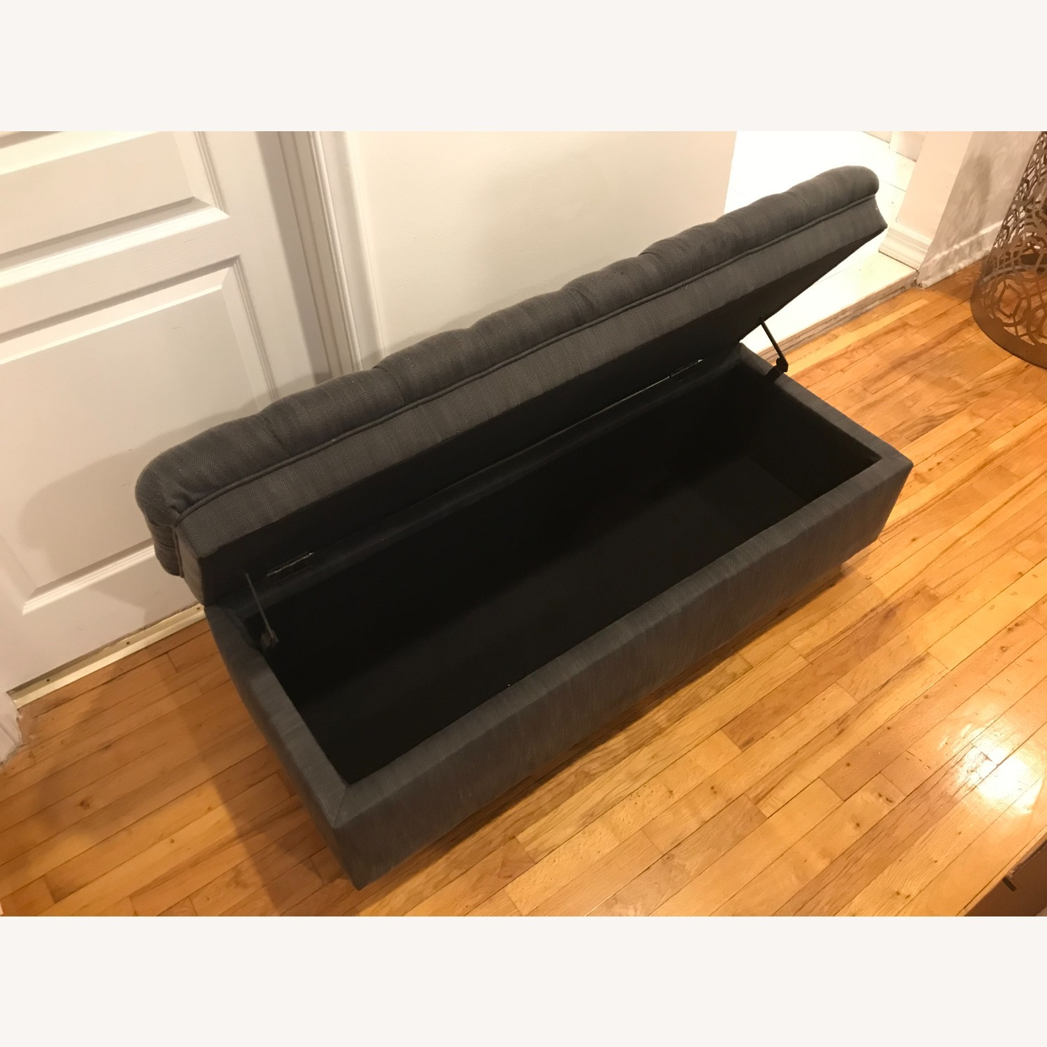 Ottoman Bench with Storage - image-2