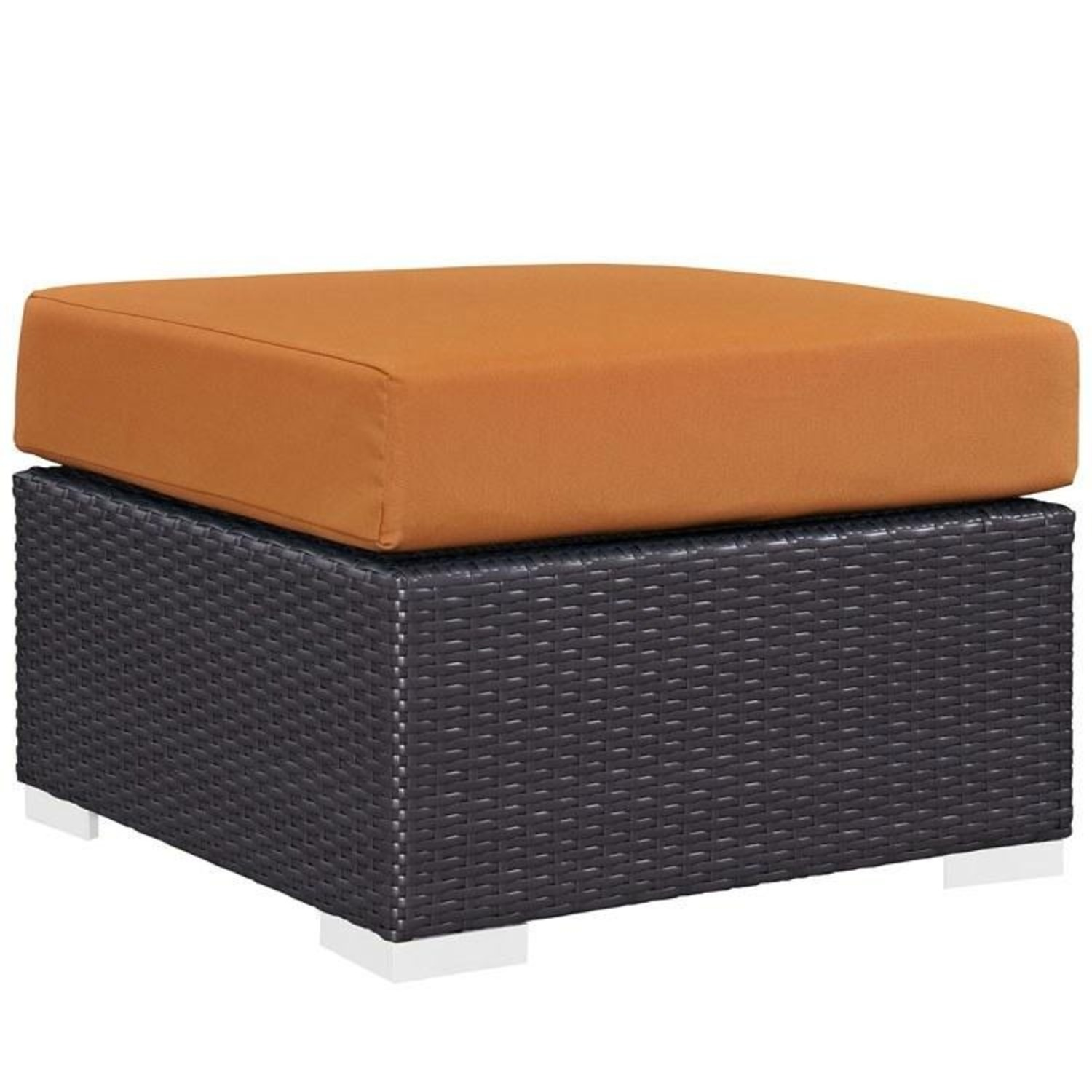 6-Piece Outdoor Sectional In Orange Fabric - image-3
