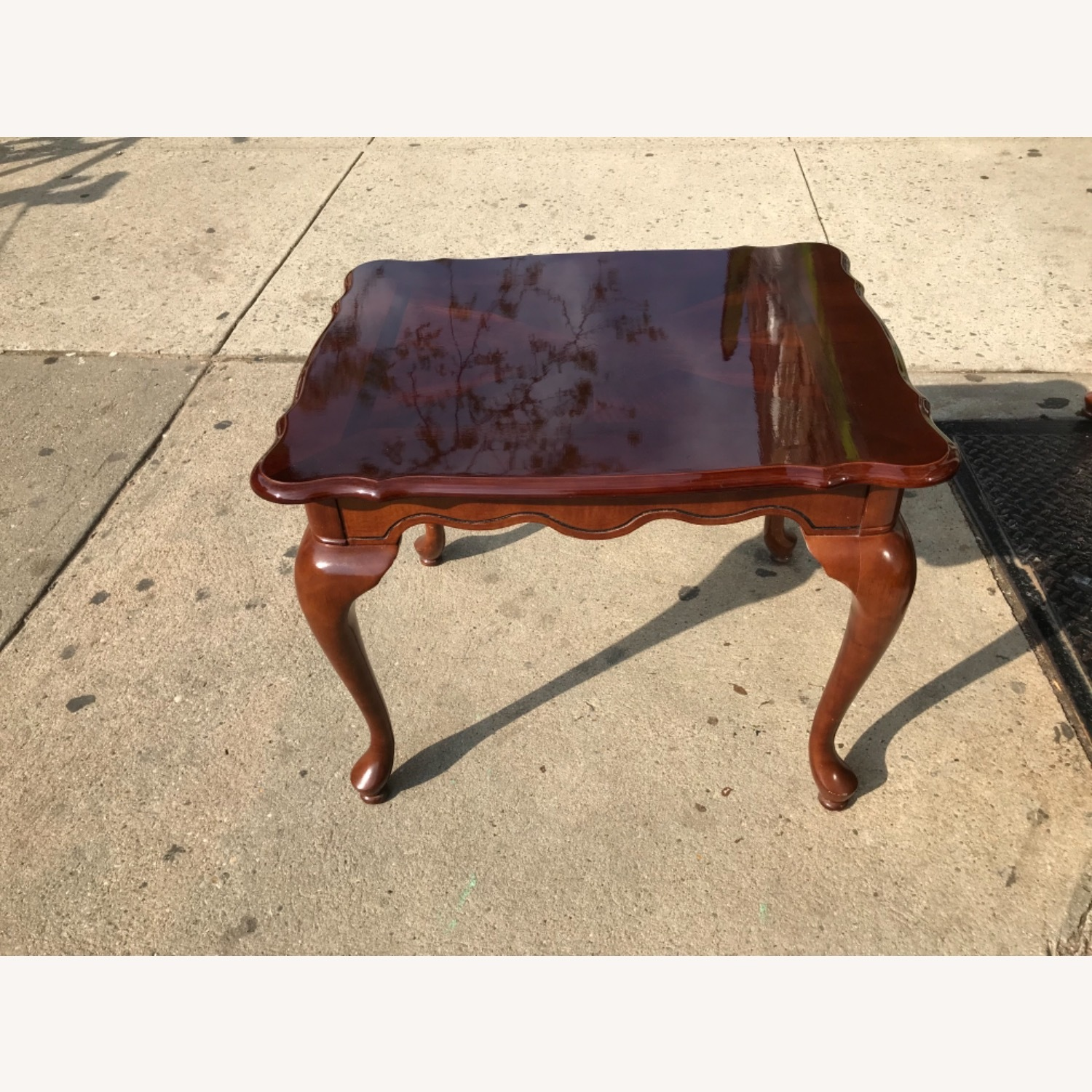Queen Anne Style Coffee Table  - image-3