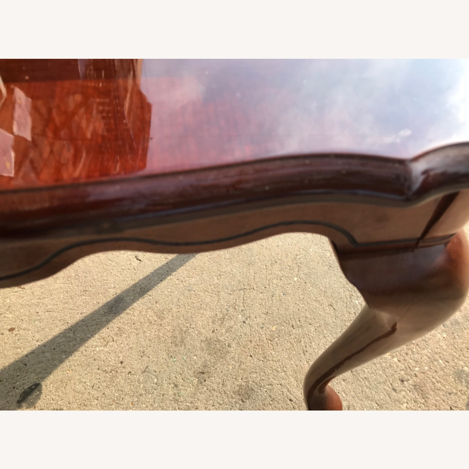 Queen Anne Style Coffee Table  - image-11
