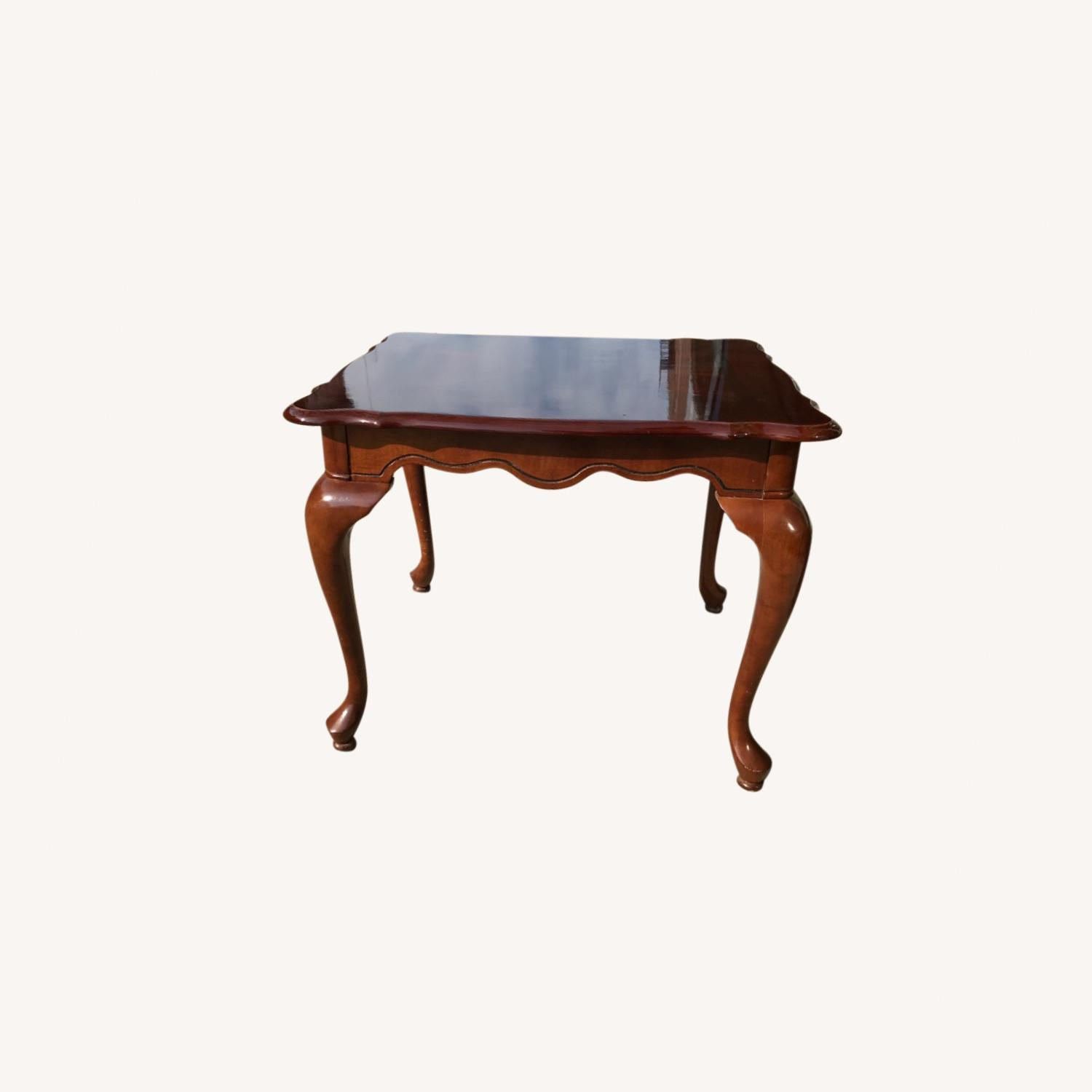 Queen Anne Style Coffee Table  - image-0