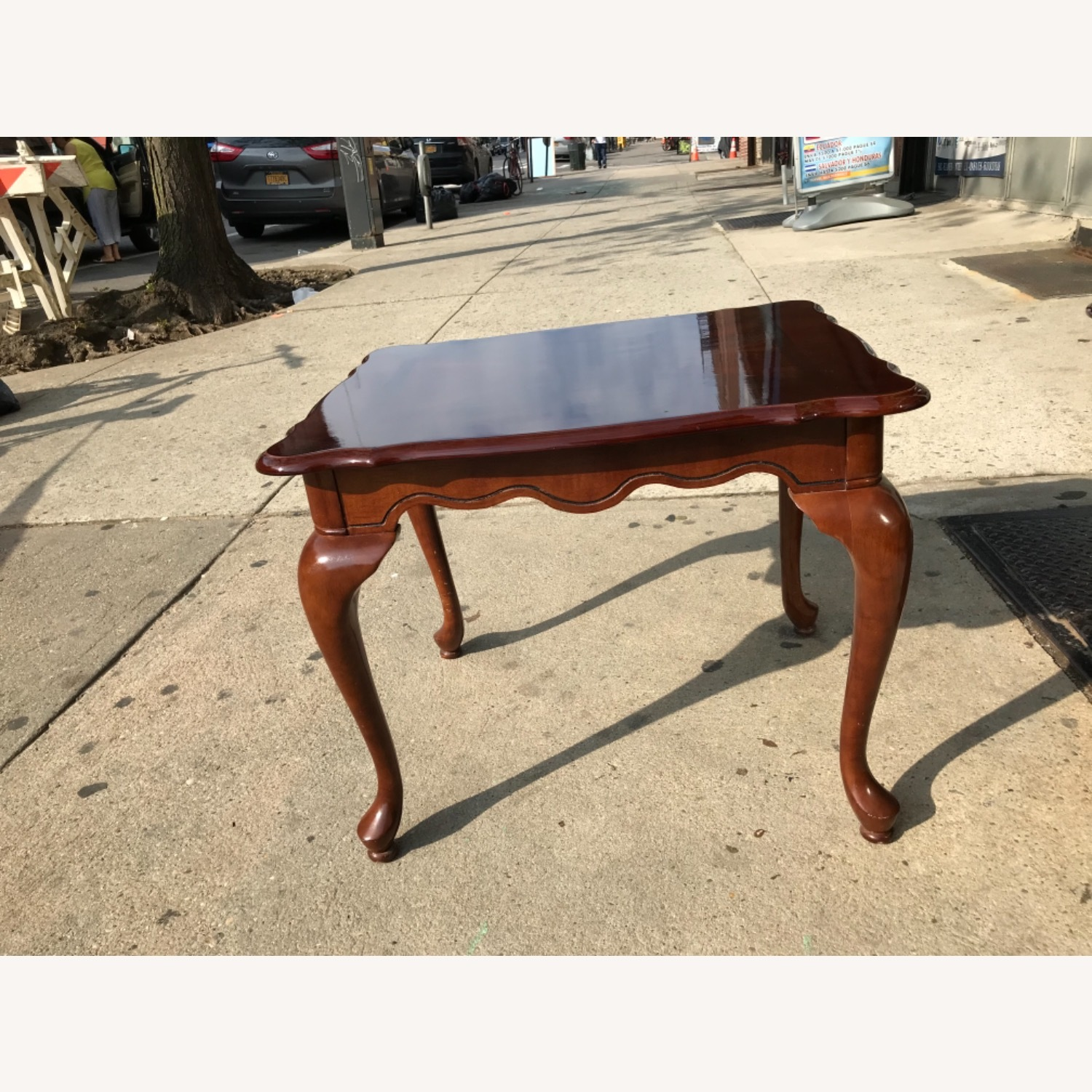 Queen Anne Style Coffee Table  - image-1