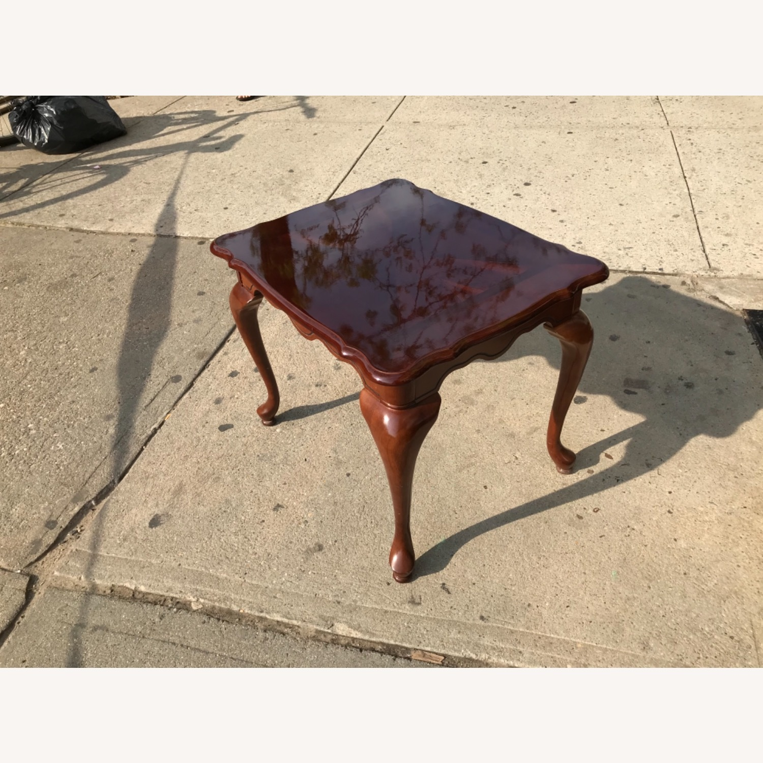 Queen Anne Style Coffee Table  - image-13