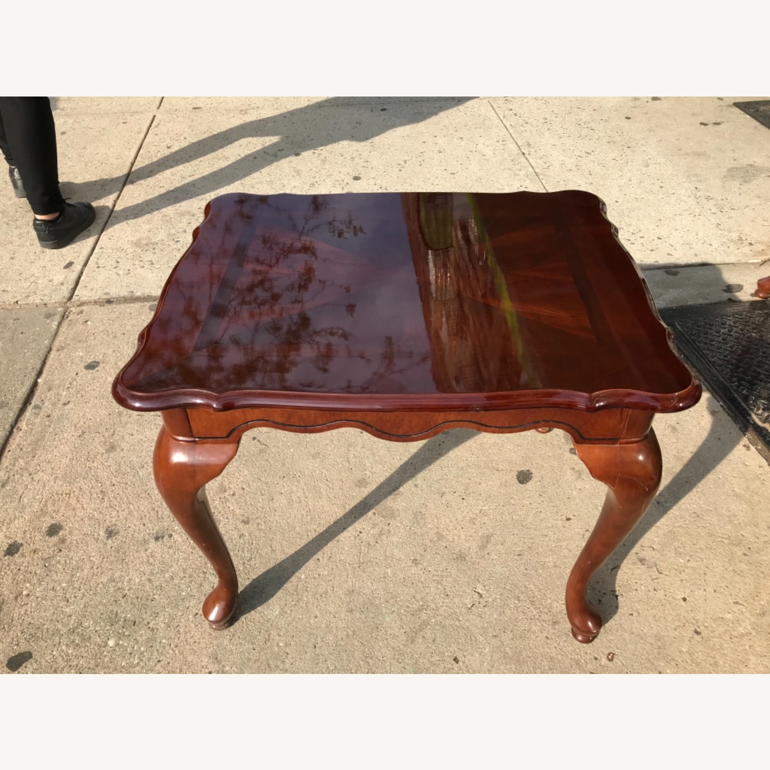 Queen Anne Style Coffee Table  - image-21