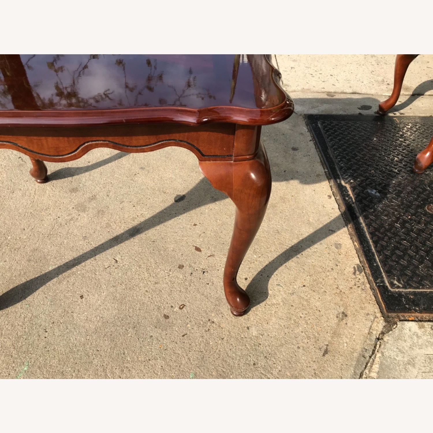 Queen Anne Style Coffee Table  - image-5