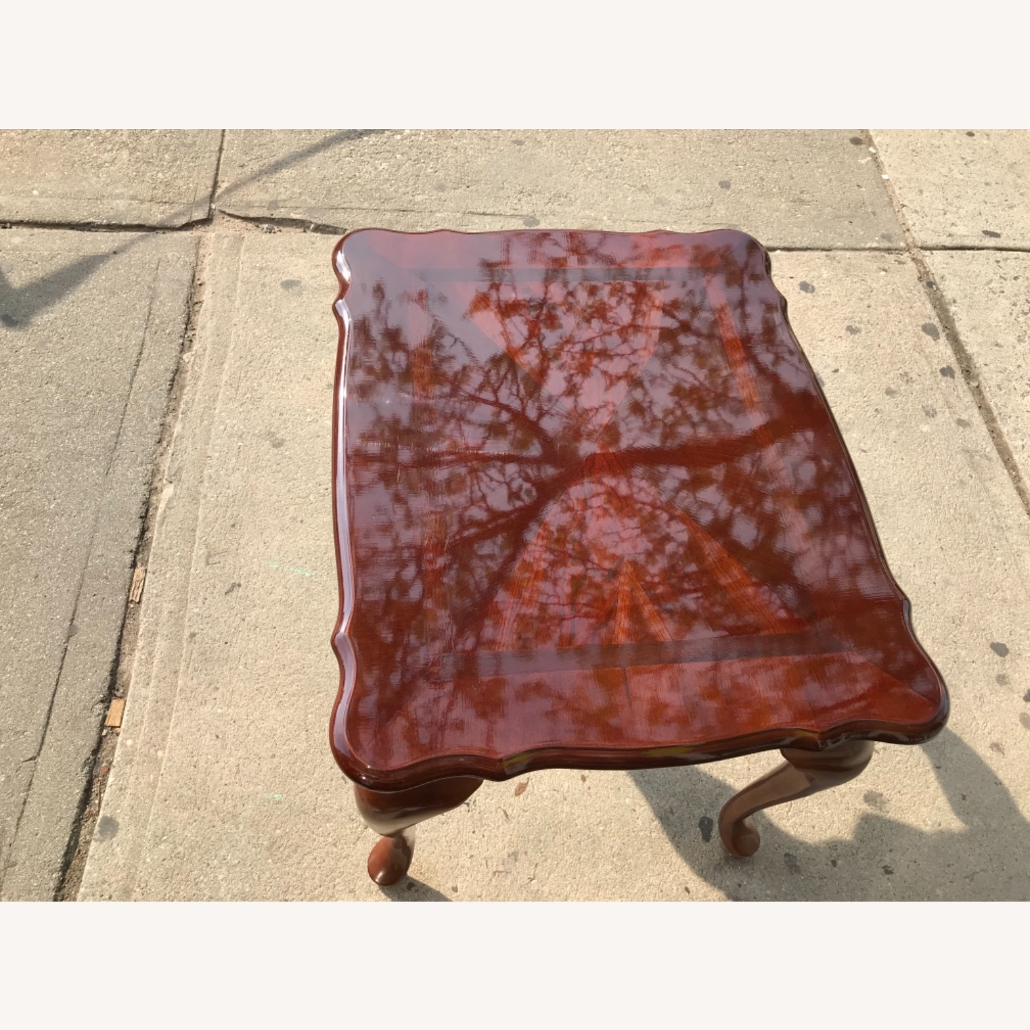 Queen Anne Style Coffee Table  - image-8