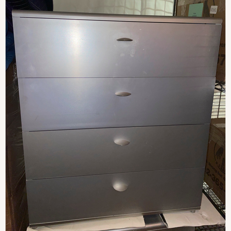 Italian Made Aluminum Cabinets (Set of 2) - image-0