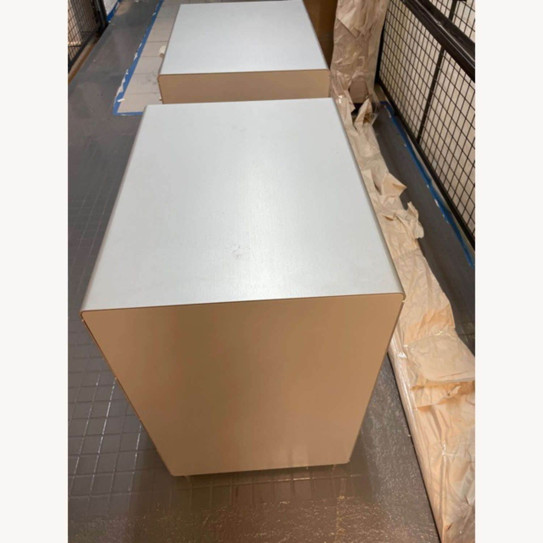 Italian Made Aluminum Cabinets (Set of 2) - image-7