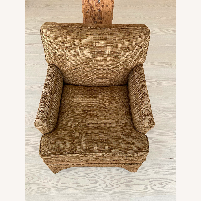 Brown Chair and Ottoman - image-3