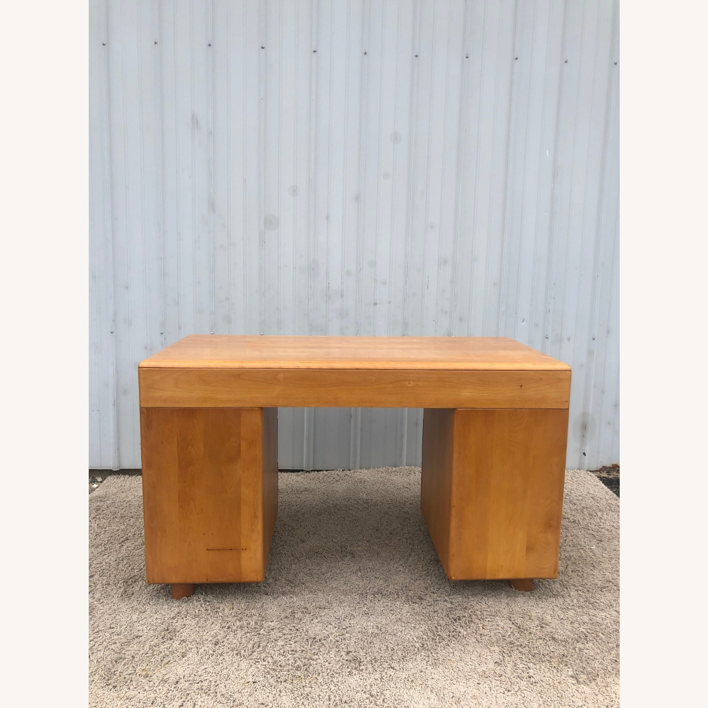 MCM Heywood Wakefield Maple Writing Desk - image-17