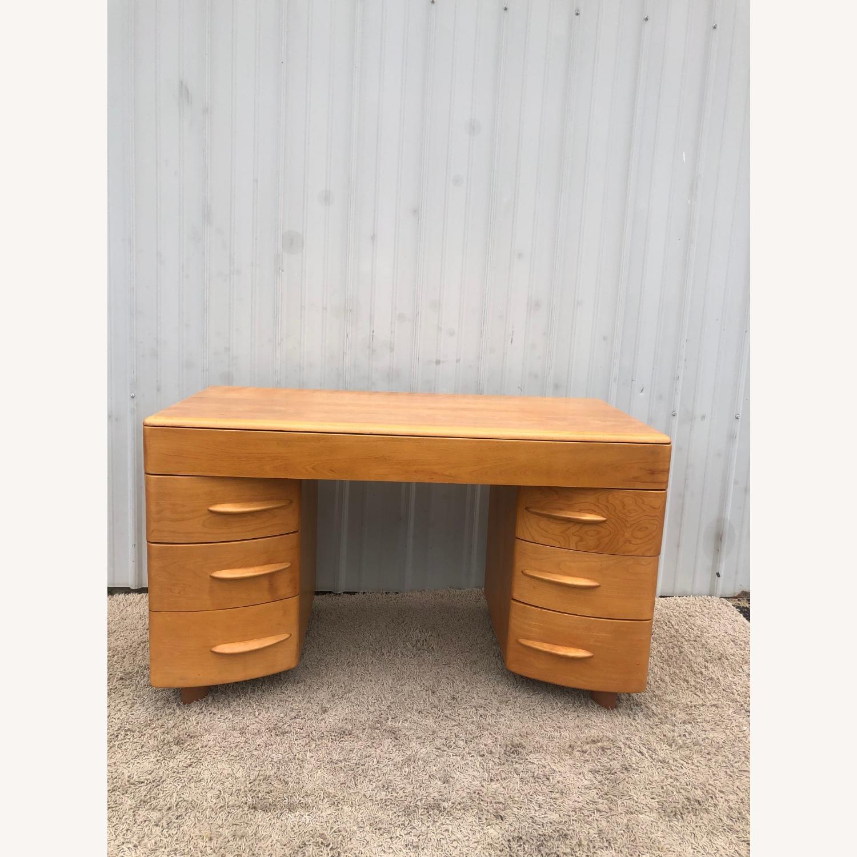MCM Heywood Wakefield Maple Writing Desk - image-12