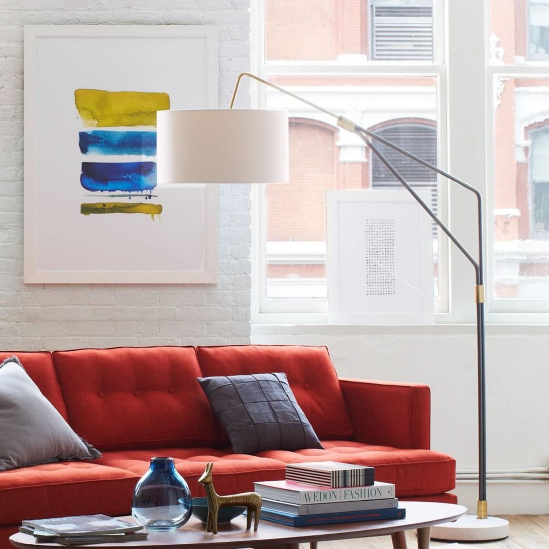 West Elm Mid-Century Overreaching Floor Lamp - image-1