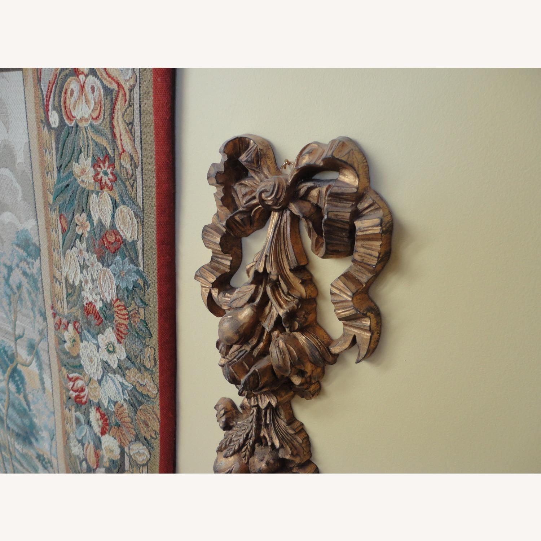 Large Tapestry, Renaissance Motif, + Rod + Panels - image-5