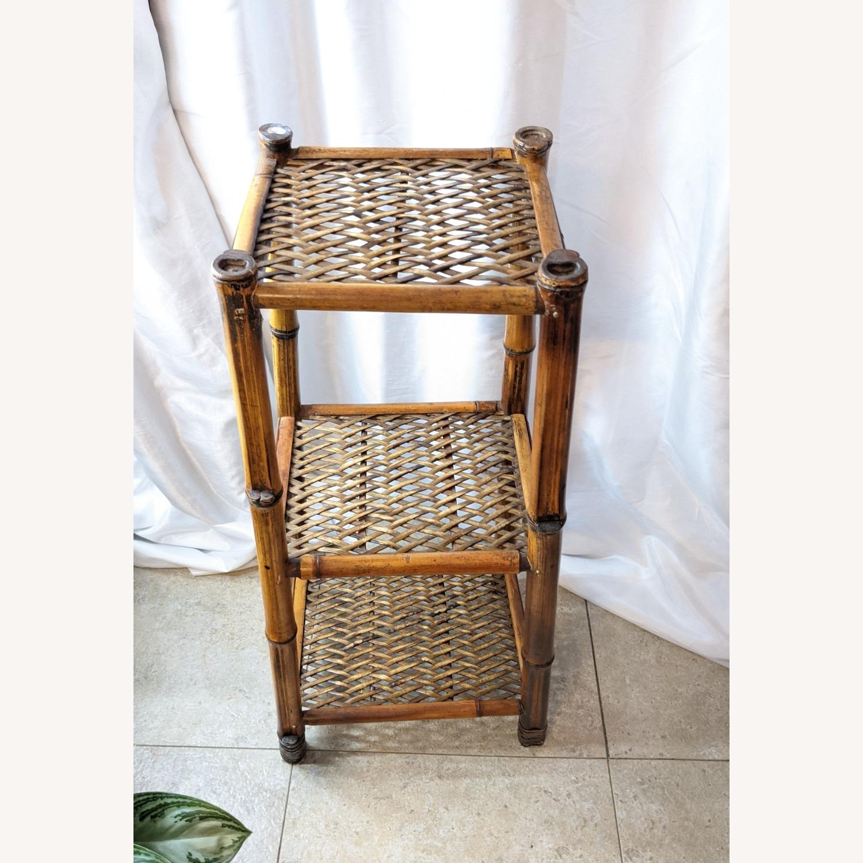 3 Tier Vintage Bamboo Shelf - image-4