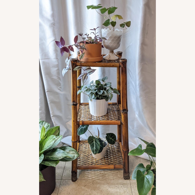 3 Tier Vintage Bamboo Shelf - image-1