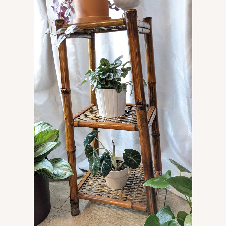 3 Tier Vintage Bamboo Shelf - image-2