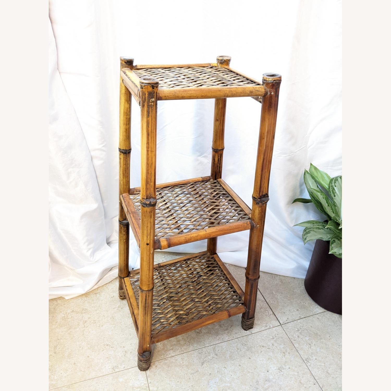 3 Tier Vintage Bamboo Shelf - image-5