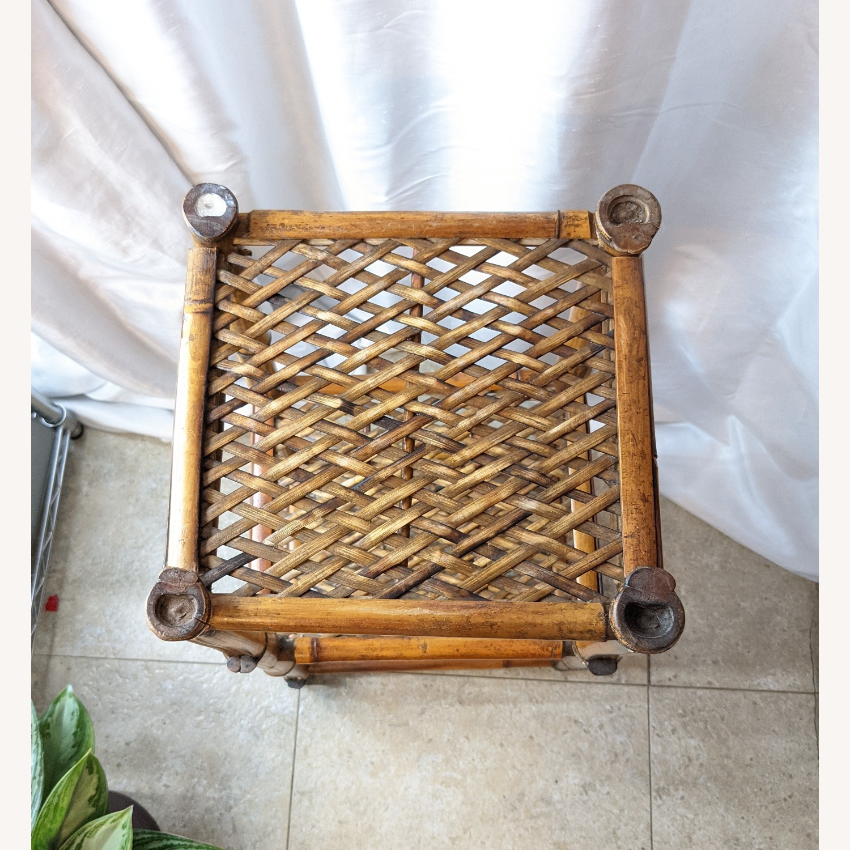 3 Tier Vintage Bamboo Shelf - image-3