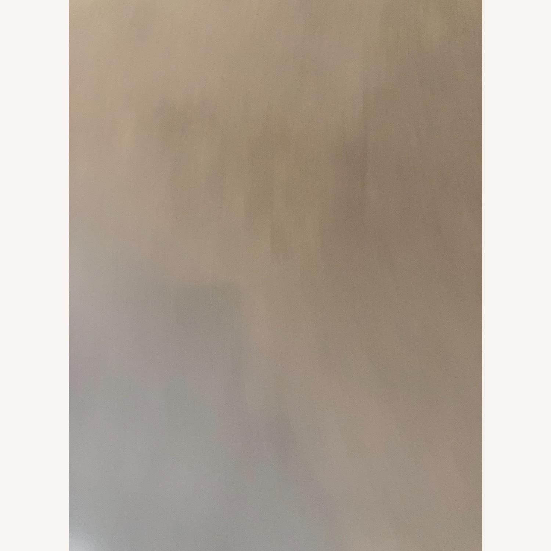 West Elm Dove Grey Velvet Blackout Curtain - image-6