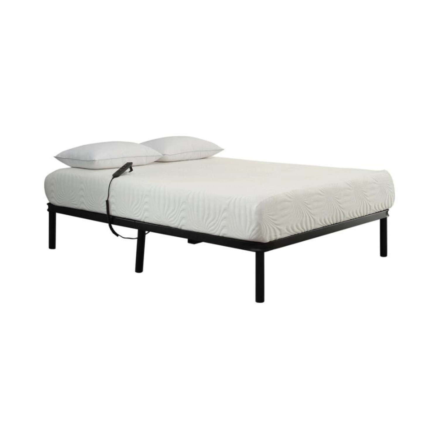 Adjustable Twin XL Bed Base In Black Finish - image-0