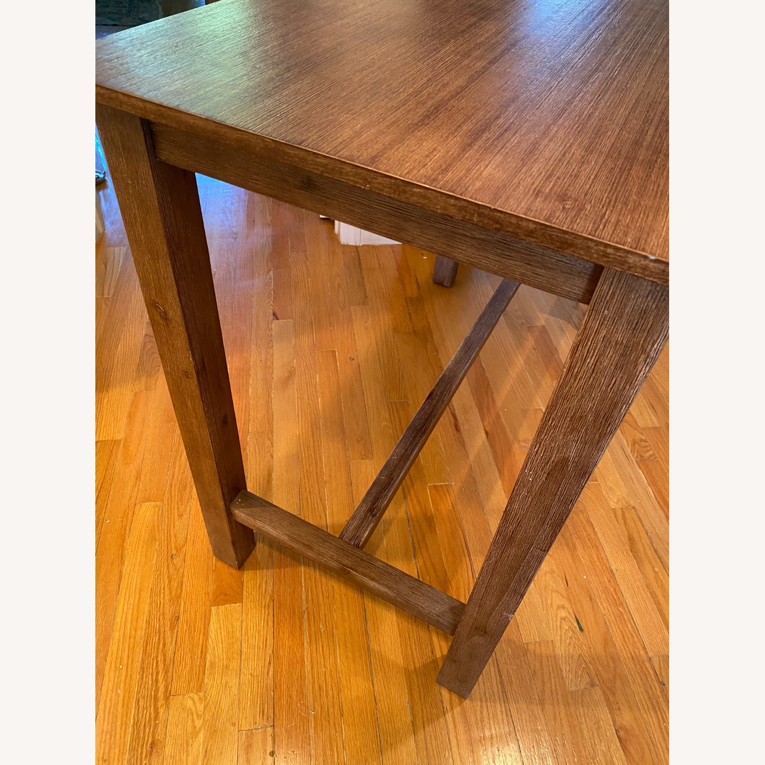 Wayfair Counter Height Rubberwood Solid Wood Dining Table - image-3